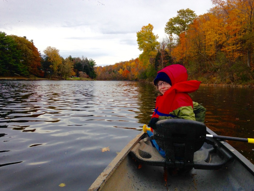 Kelsey Canoeing