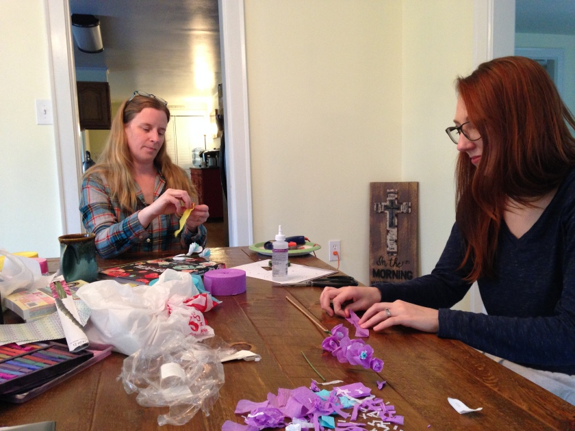 Penny & Christina Crafting