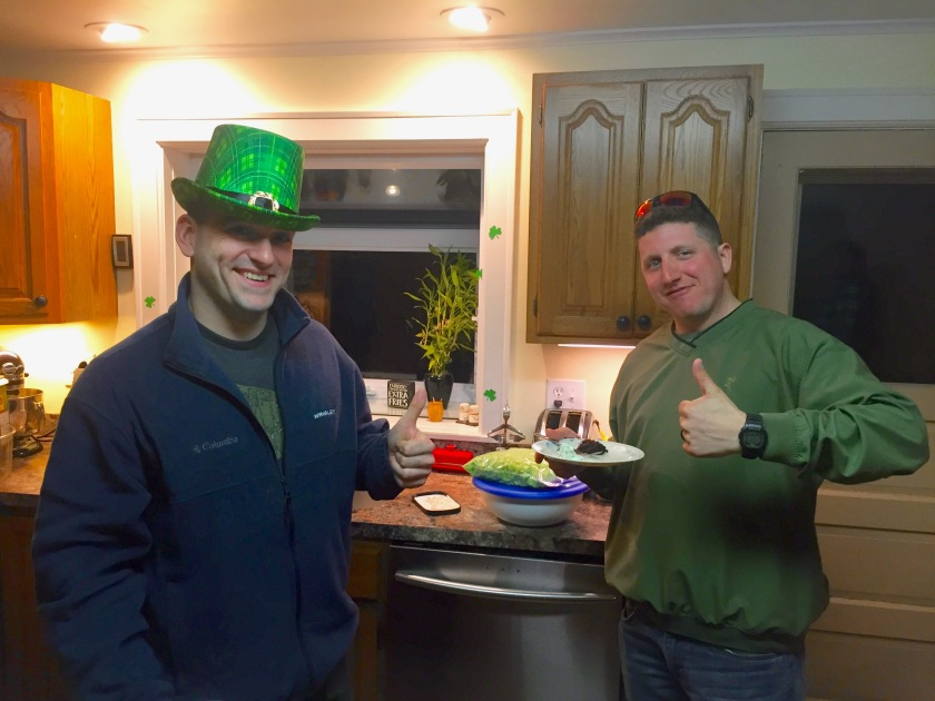 St. Patricks Day at the House!